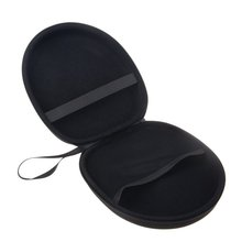 Headphones Full Size Hard Carrying Case/Travel Bag with Space for Cable/AMP/Earpads/iPod/Parts Accessories/Foldable Headphones
