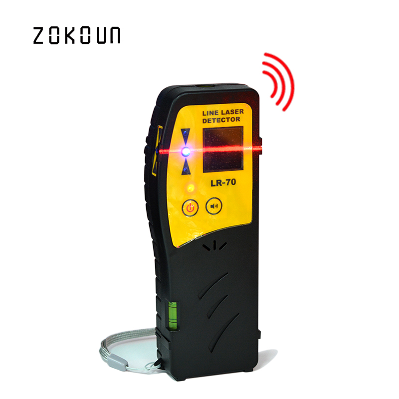 Beautiful Outdoor mode laser level available red beam cross line laser receiver or detector with Clamp<br>
