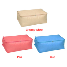3 Color Can be washed Foldable Oxford cloth Storage Bag Clothes Quilt Sweater Organizer Pouch take in quilt blanket