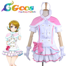 Free Shipping Cosplay Costume Love Live! Snow Halation Koizumi Hanayo Game Cos Dress Anime Uniform Halloween Christmas