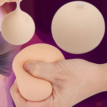 Hand Tits Rubber Boobies Breast Boob Stress Relief Ball Toy Squeeze Party Gift Gags Jokes Toy