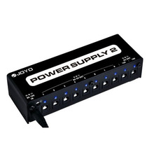 Joyo JP-02 Power Supply 2 Guitar pedal Device with 10 Isolated Outputs & 3 Power Options