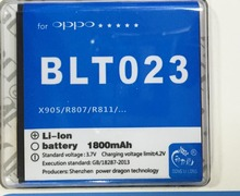 BLT023 for OPPO X905 R807 A91 Find 3 R811/T/W A91 Battery 1520mAh Donglilong
