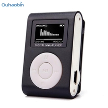 Ouhaobin Popular Multicolor USB Clip MP3 Player LCD Screen Support 32GB Max Micro SD TF Card To Play Music Mp3 Player Oct3(China)