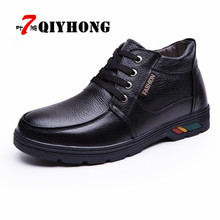 Buy 2018 Hot Newest Winter Keep Warm Men Boots High Pu Leather Casual Boots Working Fashion Water Boots Essential Shoes for $25.88 in AliExpress store