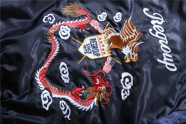 Eagle Dragon MA1 Bomber Jacket 11