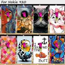 22 Styles Mobile Phone Bags and Cases For Nokia Lumia 920 N920 Cases Anti-Knock Hard Plastic Protective Skin Shell Housing