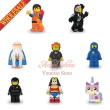 50pcs/lot Super Heros Legos movie super man decoration Pins badges brooches collection DIY bags parts accessories children gifts