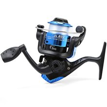 New JL200 Electroplating Plastic Fishing Reels 3 Ball Bearings Type Reel Left/Right Hand Interchangeable Spinning Reel 5.2/1