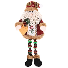 Christmas Decoration Doll Cute Two Patterns Santa Claus Deer Christmas Tree Ornament Lovely Durable Gift for Christmas Dec(China)