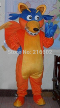 High quality Dora fox Mascot costumes Holloween Fancy dress Free shipping