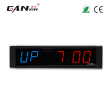 "[Ganxin]1"" Fashion Hot Selling Low Price Led Crossfit Countdown Remote Control Timer Count up Function"
