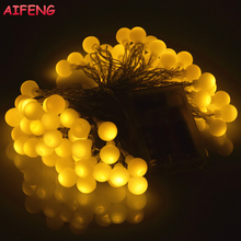 AIFENG Led String 10M 5M 3M 1.5M Flash Fairy Lights 80Leds 30Leds 20Leds 10Led Led String Christmas Wedding Party Holiday Lights(China)