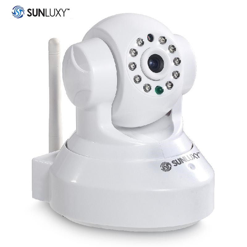 H.264 1MP HD 720P P2P WiFi Wireless Night Vision Security Network IP Camera EU standard plug<br>