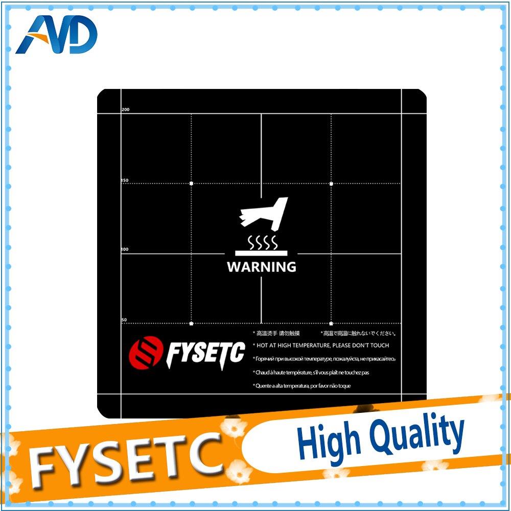 3D Printer 220x220mm Surface Heat Bed Platform Sticker for Creality Ender 3