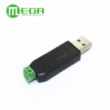 G305... Free Shipping 10pcs USB to RS485 485 Converter Adapter Support Win7 XP Vista Linux Mac OS WinCE5.0