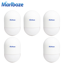 5pcs/lot DC5V Rechargeable 433MHz Wireless Passive Smart  PIR Detector Anti-tamper IR Motion Sensor for Wireless Alarm System