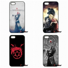 For Meizu M3 Lenovo A2010 A6000 S850 K3 K4 K5 K6 Note ZTE Blade V6 V7 V8 Anime Fullmetal Alchemist Plastic Cell Phone Case(China)