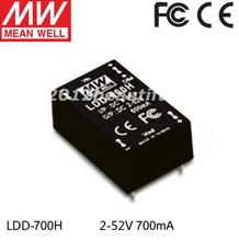 1piece Meanwell Ldd-700h Led Driver 9-56VDC to 2-52VDC 700mA(China)