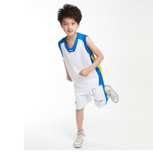 Boy Basketball Jersey Suit Shirts and Shorts Children Clothing Basketball Children's Sport Team Training Uniform Clothing