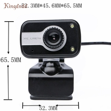 2 LED USB 2.0 HD Webcam Camera Web Cam With Microphone Mic For PC Laptop_KXL0224