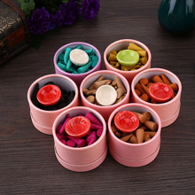(about 40 pcs/1 box) incense natural incense sticks Rose Tulip Scent Tower sandalwood Spice +tray household Perfume Suits