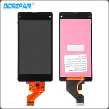 Black For Sony Xperia Z1 Mini Compact D5503 M51W LCD Display With Touch Screen Digitizer Assembly Replacement Free shipping