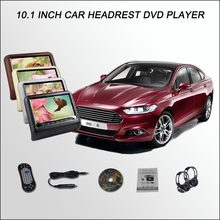 "BigBigRoad For Ford MONDEO/10.1"" Car Headrest Monitor / Digital LCD Screen/Support IR HDMI USB SD DVD Player Games(China)"