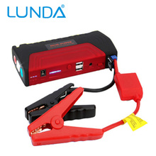 LUNDA 12V Portable Mini Jump Starter Car Jumper Booster Power Mobile Phone Laptop Power Bank Battery Charger