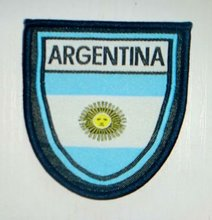 Argentina Football Team Sewing On patch jersey soccer Patch Crest Sport Patch Badge