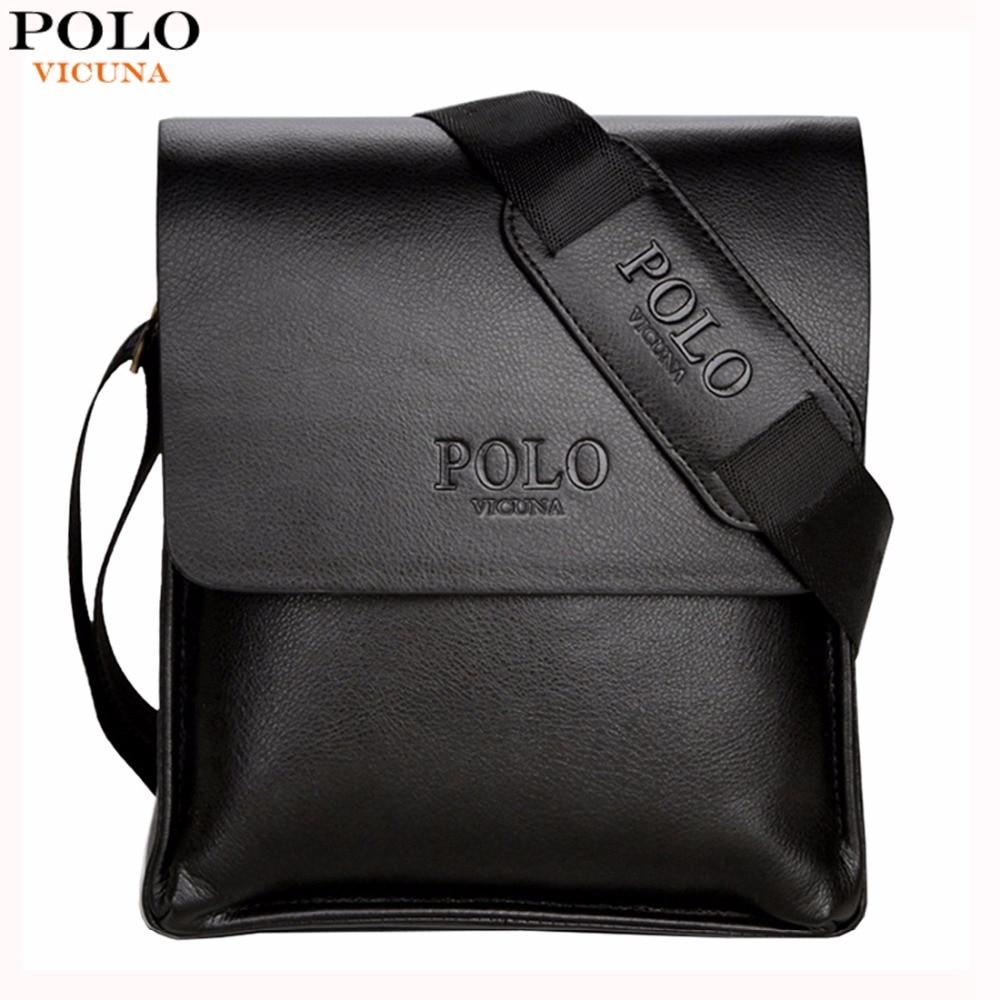 VICUNA POLO Famous Brand Leather Men Bag Casual Business Leather Mens Messenger Bag Vintage Mens Crossbody Bag bolsas male<br><br>Aliexpress