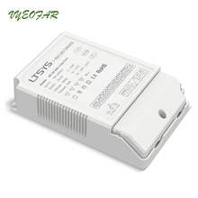 LTECH AD-50-500-1750-F1P1 0-10V Led Dimming Driver,AC100-240V input;500mA-1750mA max 50W output;Constant Current Push Dim(China)