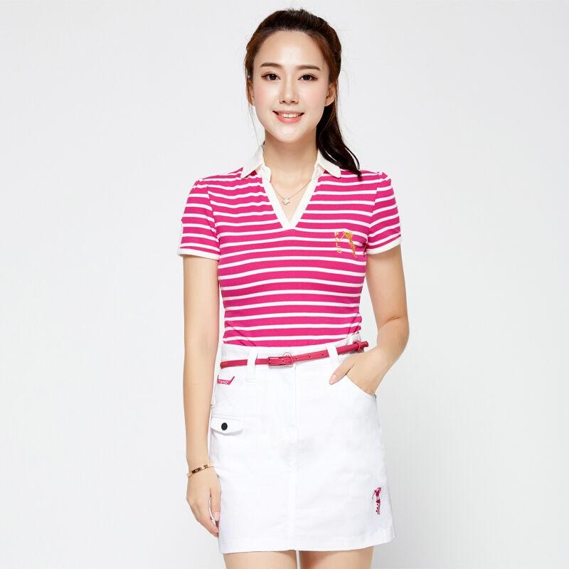POLO Brand New Womens Golf Skirt 100% Cotton Sport Pantskirt Summer Golf Short Skirt Anti Exposure Sweat Breathable White<br><br>Aliexpress
