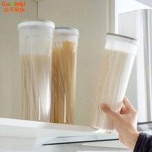 Цилиндрической формы лапши контейнер спагетти канистры Крупы резким зерна коробка Ноя(China)