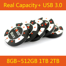 Cute 64GB 16GB 32GB Rubber Poker Stars Pokerstars USB Flash Drive 3.0 Pen Drive  128GB Memory Stick U Disk On Key 64GB 512GB