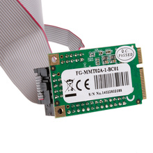 Mini PCI-e 2 Serial Ports + Mini 1 Parallel I/O Card PCIe to RS232 DB9 Adapter C26(China)