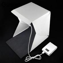 "Gizcam Softbox mini studio photo Camera Photo Studio LED Light 9"" Photography Lighting Tent Kit Mini Backdrop Box(China)"