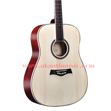 41 inch Burlywood color Acoustic guitar of Afanti Music (AAL-14616)(China)