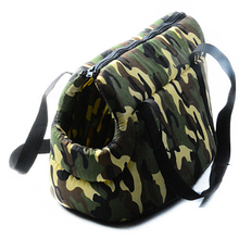 Portable outdoor carrier Army Camouflage print slings pet bag dog carrier Puppy travel carrier bag for dogs cat bags S L(China)