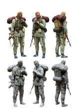 [tuskmodel] 1 35 scale resin model figures kit commander of special troops GRU(China)