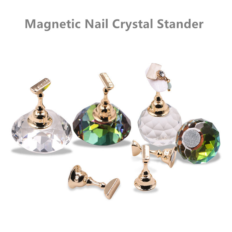 Magnetic Nail Tips Crystal Stander