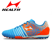 Health brand FOOTBALL BOOTS soccer turf football cleats boots kids high quality futsal indoor soccer shoes men plus size 36-45