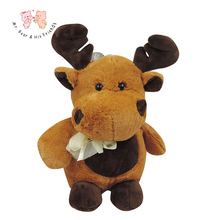 Stuffed Kid's Toy Deer Doll-Judy Dre am Soft Cartoon Animals Toys Plush Children's Dolls Birthday/Christmas Elk Gift for Kids