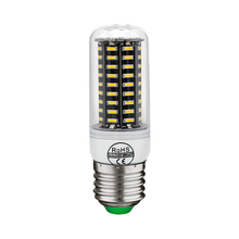 LED Corn Bulb Real No Flicker Smart IC Design High Lumen 4014 SMD E27 220V lamp Spotlight 38 55 78 88 140 LEDs Light Chandelier