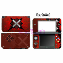 Red Monster Hunter X Game MHX Front&bottom Protective Sticker Decal Skin For Nintendo For New 3DS XL 3DS LL Console Decor