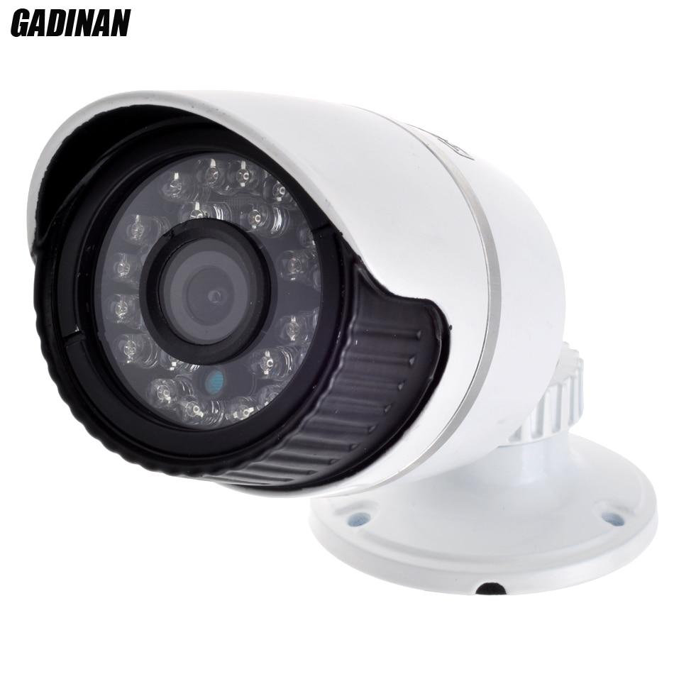 1920*1080P 2MP ONVIF 2.0 Waterproof Outdoor IR CUT Night Vision P2P Plug and Play 6mm Lens Metal Case Mini Bullet IP Camera<br><br>Aliexpress