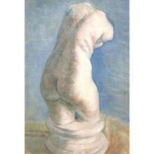 High quality Vincent Van Gogh paintings for sale Plaster Statuette Of A Female Torso III Canvas art hand-painted