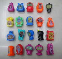 100pcs/lot different style ToonZ cartoon figure have 2 alterable face(China)