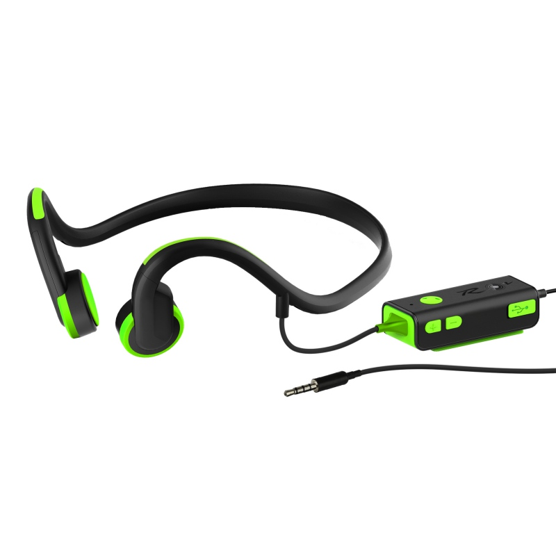 Professional Noise Reduction Bone Conduction Headsets Outdoor Sport Neckband Earphone With Mic Apply Noisy Environment or Sport<br>