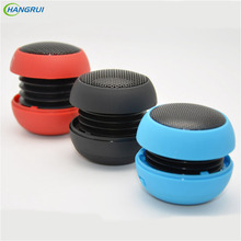 HANGRUI Mental small burger portable speaker Loudspeaker Music player Mini Stereo sound box For xiaomi speaker phone smartphone
